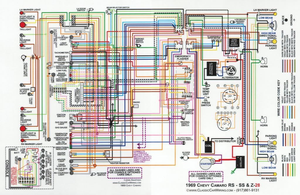 Wgauges GEN Warning Light Question Team Camaro Tech - 67 camaro wiring diagram pdf