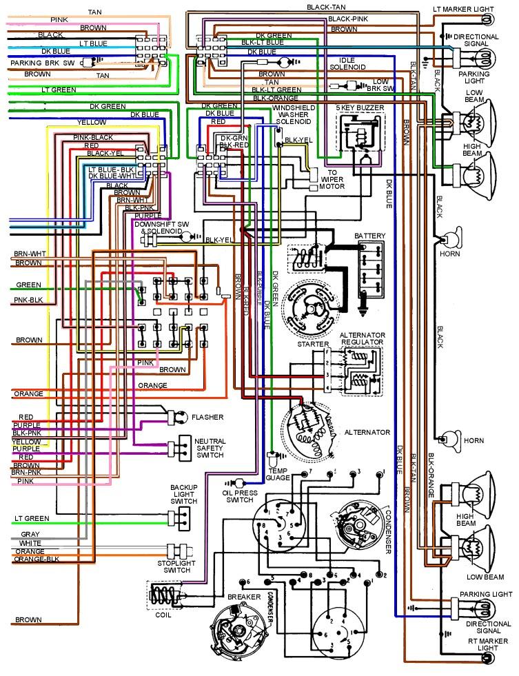 69 Camaro/Firebird steering column wiring help | Team Camaro Tech | Wiring Schematic For 1970 Firebird |  | Team Camaro