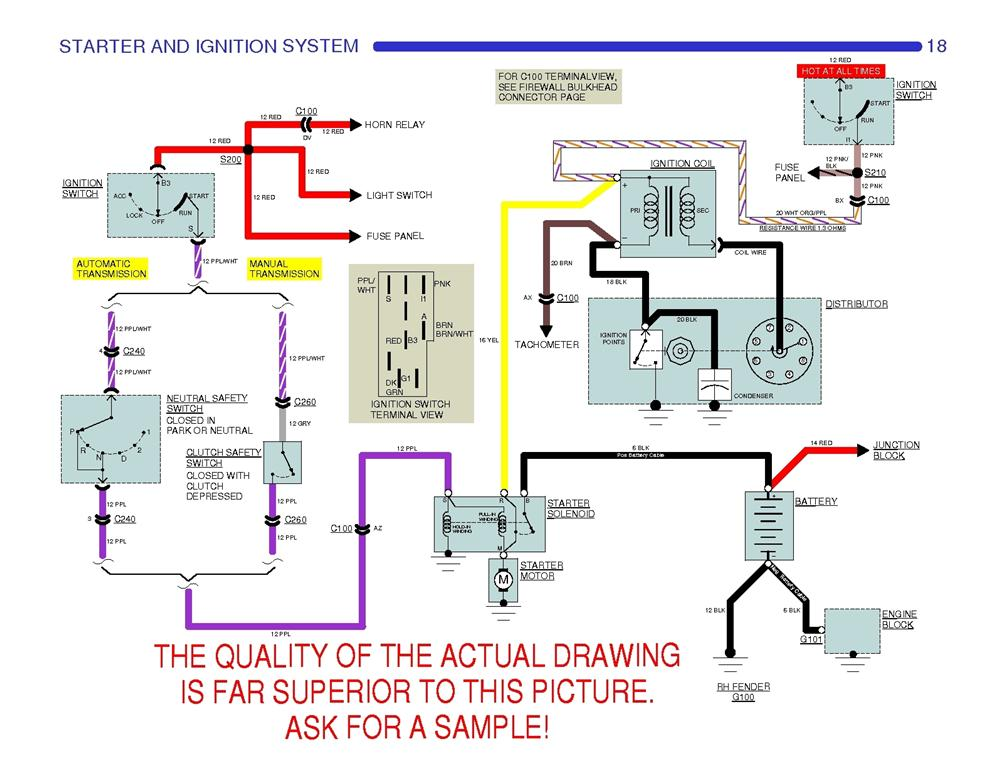 69 camaro factory distributor wiring diagram team camaro tech click image for larger version name 75350178og views 110 size 968 sciox Images