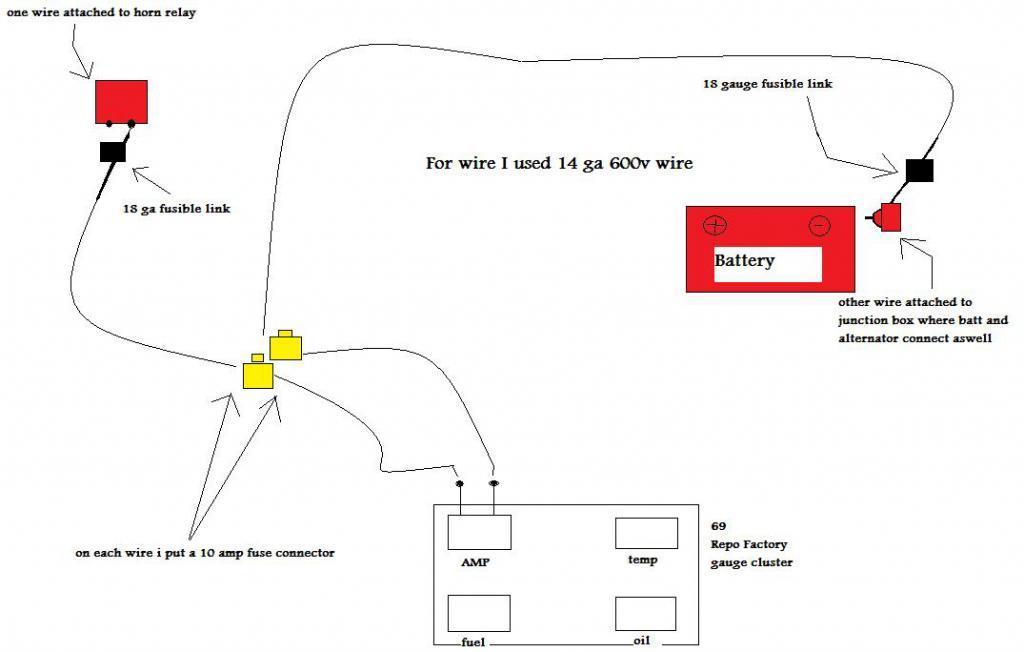 Amp gauge wiring need help? - Team Camaro Tech