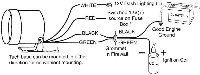 Sun Super Tach II wiring - Team Camaro Tech