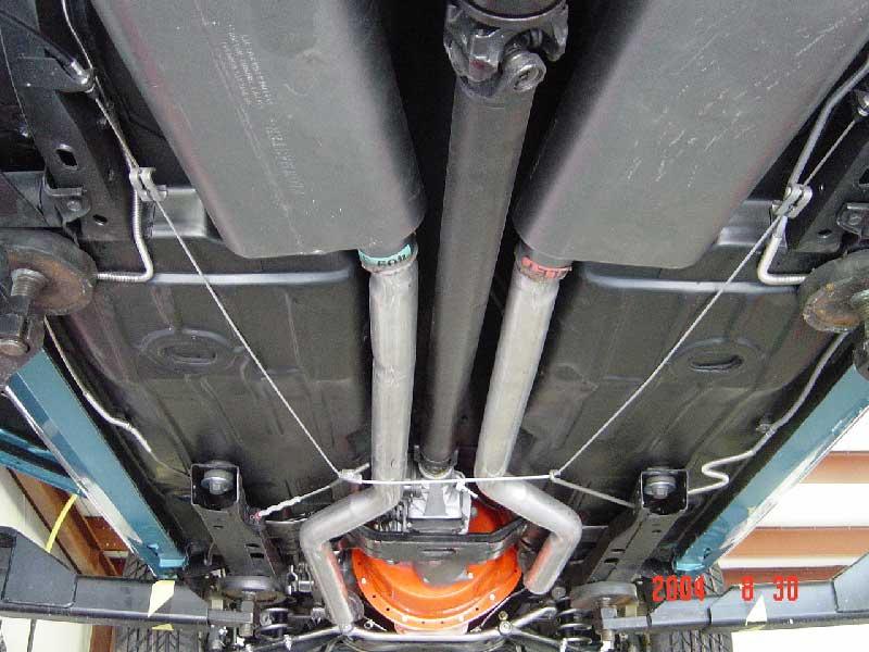 Emergency Brake cables hangin down - Team Camaro Tech