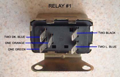 1967 Camaro Rs Headlight Relay Board Diagram Team Camaro Tech