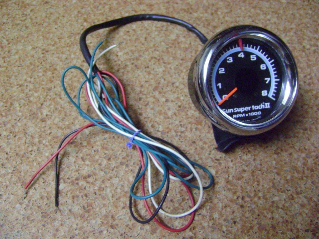 sun super tach ii wiring - team camaro tech, Wiring diagram