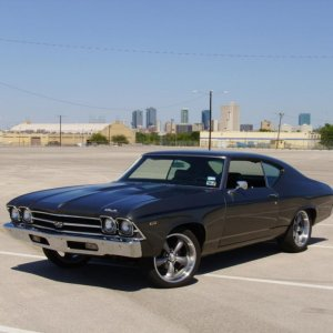 1969 chevelle with a LS6