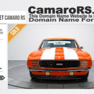CamaroRS.com Domain Name For Sale